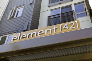 Element 42 Sign